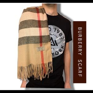 Mega Check Burberry Scarf